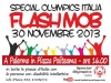Un Flash Mob dedicato alla disabilità intellettiva
