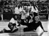 Danzaterapia, Rosaria Di Martino e Dario Caminita con le ragazze della scuola Falcone al Palaoreto a Palermo