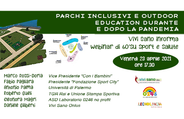 Parchi inclusivi e outdoor education durante e dopo la pandemia