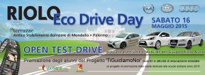 Banner Riolo Eco Drive Day_Vivi Sano Onlus_16 mag 2015