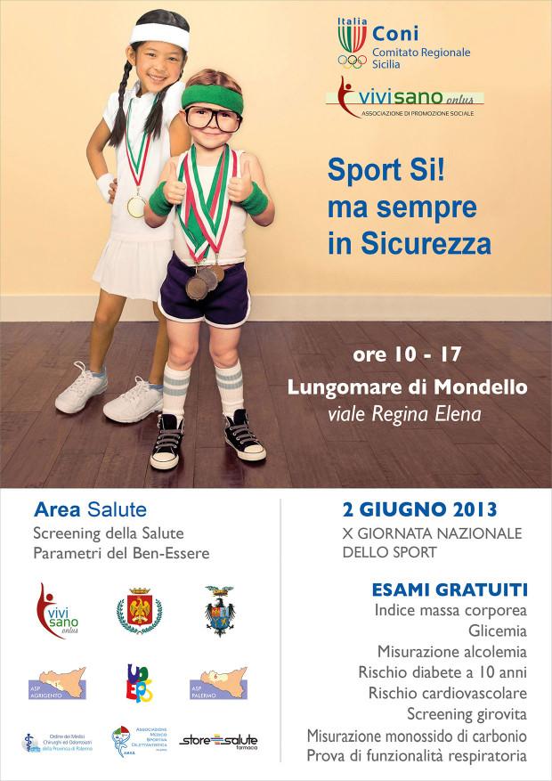Con il CONI Sicilia Sport Si! ma in sicurezza