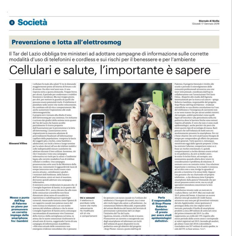 Stop-Phone, uso consapevole dei telefonini