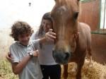 Approccio con il cavallo...