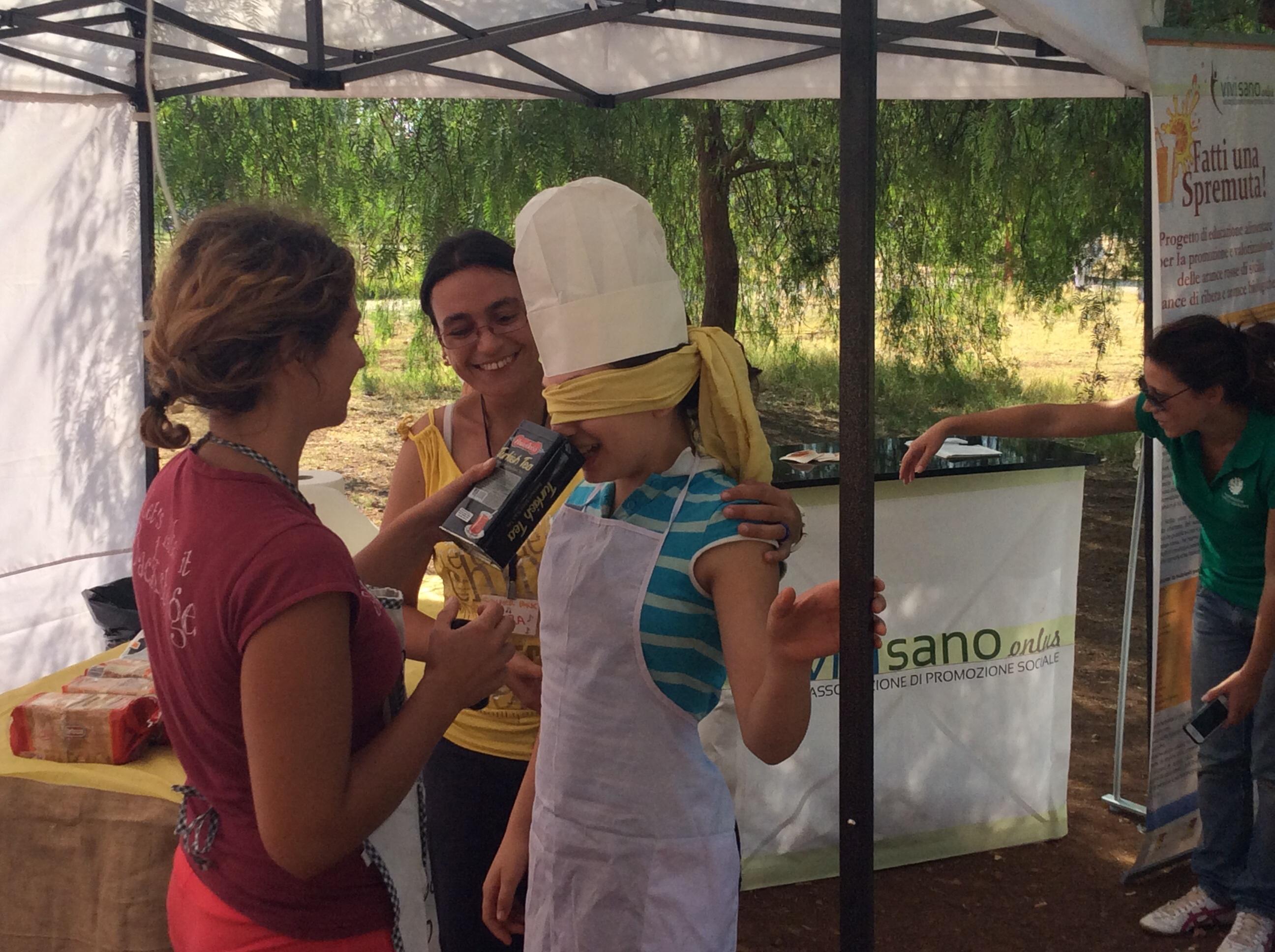 Tutti al parco con 'merende per gioco!' con gli educatori di Vivi Sano Onlus