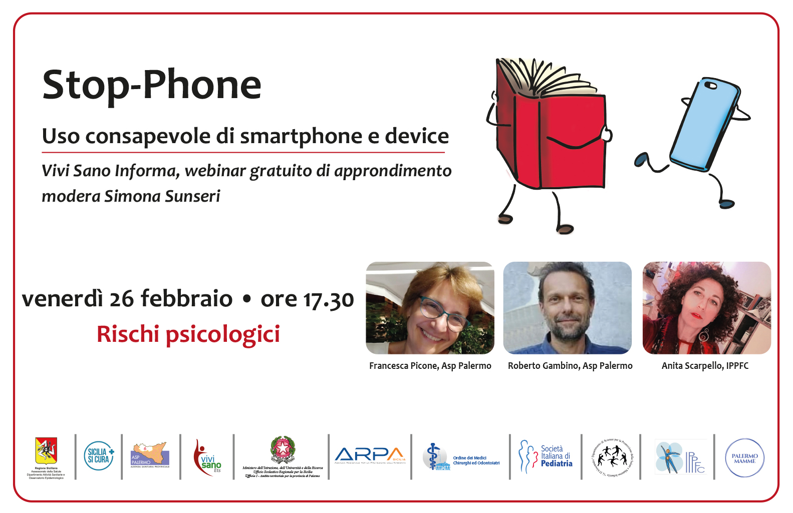 Stop-Phone, i rischi psicologici