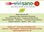 'Festival Vivi Sano 2012' Palermo 27-28 ottobre Villa Filippina